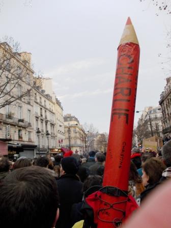 Marche du 11 janvier boulevard Saint-Denis