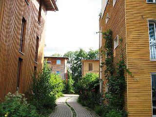 Eco-quartier Vauban à Freiburg en Allemagne / Photo Claire 7373 / Wikipedia the free Encyclopedia