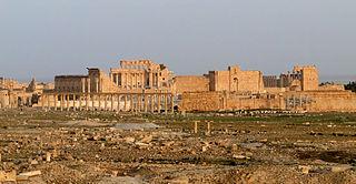 Le temple de Baal explosé en août 2015